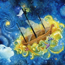 """Boat of Your Dreams — 18x24"""" — Giclée Print — $150"""