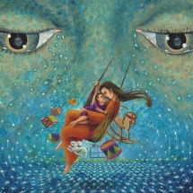 "Through My Mothers Eyes — 18x24"" — Giclée Print — $150"